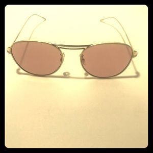Oliver People's Pink tint Sunglasses